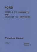 Manuel de réparation Ford Escort et sierra RS Cosworth  20 Avignon (84)