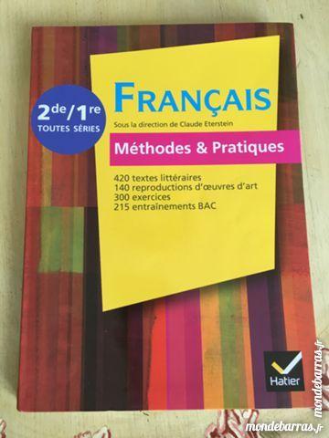 Manuel Scolaire Francais 2nde 1ere