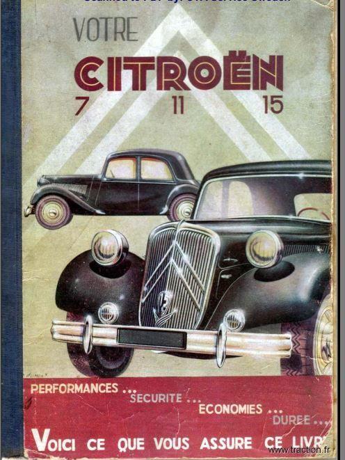 Manuels d'atelier Citroën traction 7 11 15 20 Marseille 1 (13)