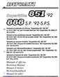 Manuels d'atelier Ducati 888 et 851