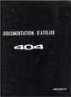 Manuels d'atelier Peugeot 404 essence diesel 3000 pages  11000 (11)
