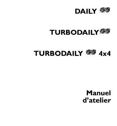Manuels de réparation Iveco daily