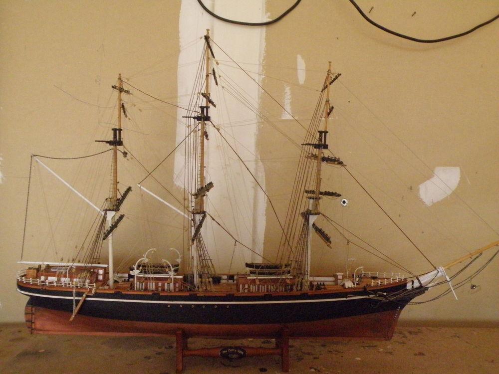 Maquette bateau Cutty SARK 0 Magny-le-Désert (61)