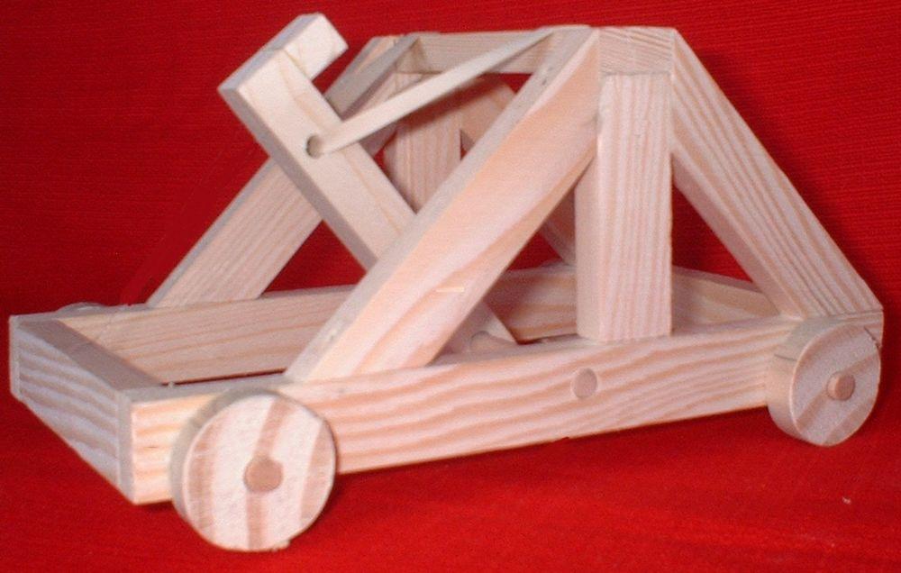 Maquette de catapulte à roues 19 Nantes (44)