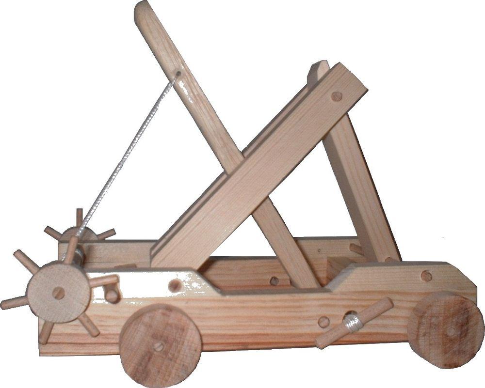 Maquette fonctionnelle de catapulte 40 Nantes (44)