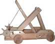 Maquette fonctionnelle de catapulte