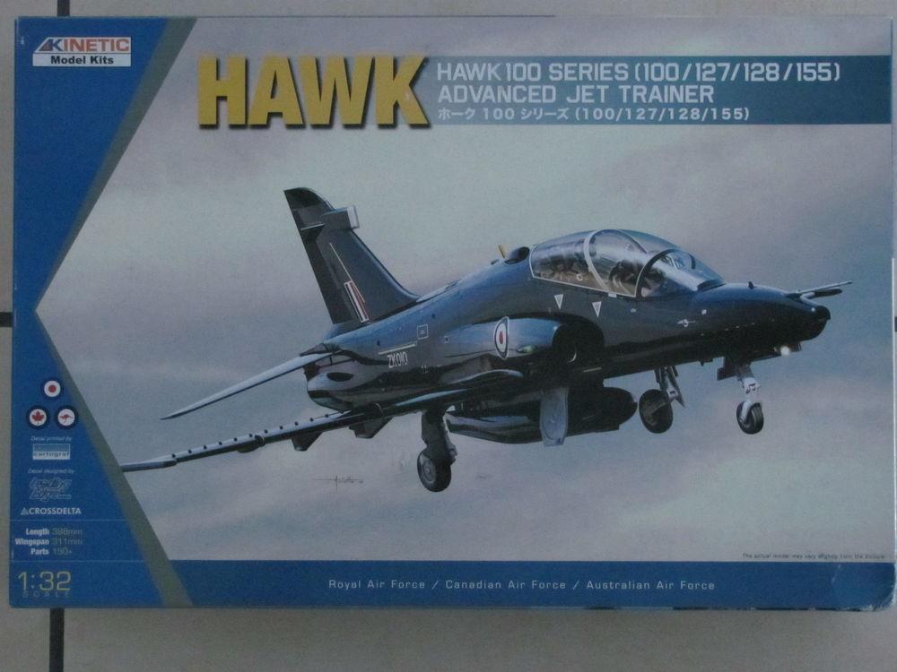 Maquette du HAWK 1/32 - Kinetic