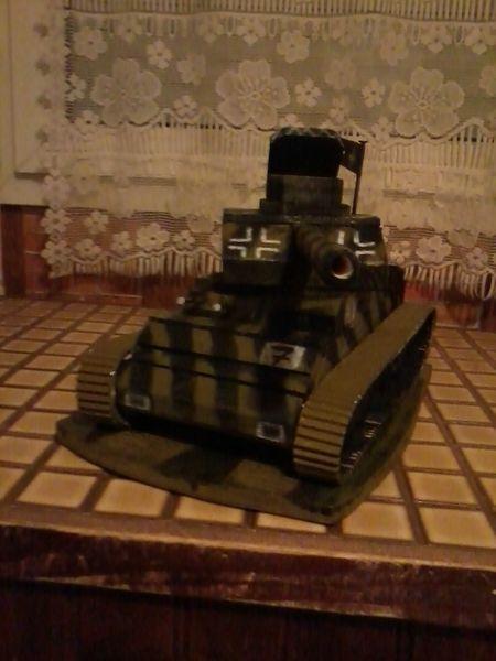 maquette de tank 20 Le Havre (76)