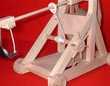 Maquette de trébuchet à roues Toulouse (31)