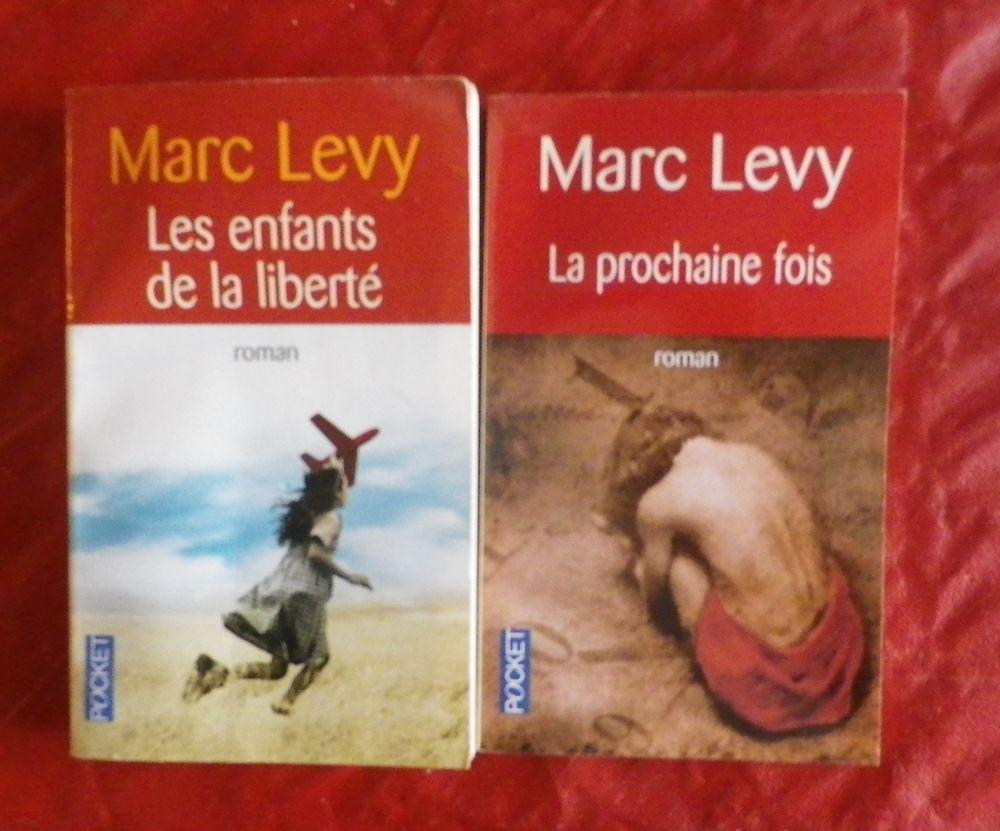2 MARC LEVY LES ENFANTS DE LA LIBERTE et LA PROCHAINE FOIS 4 Attainville (95)