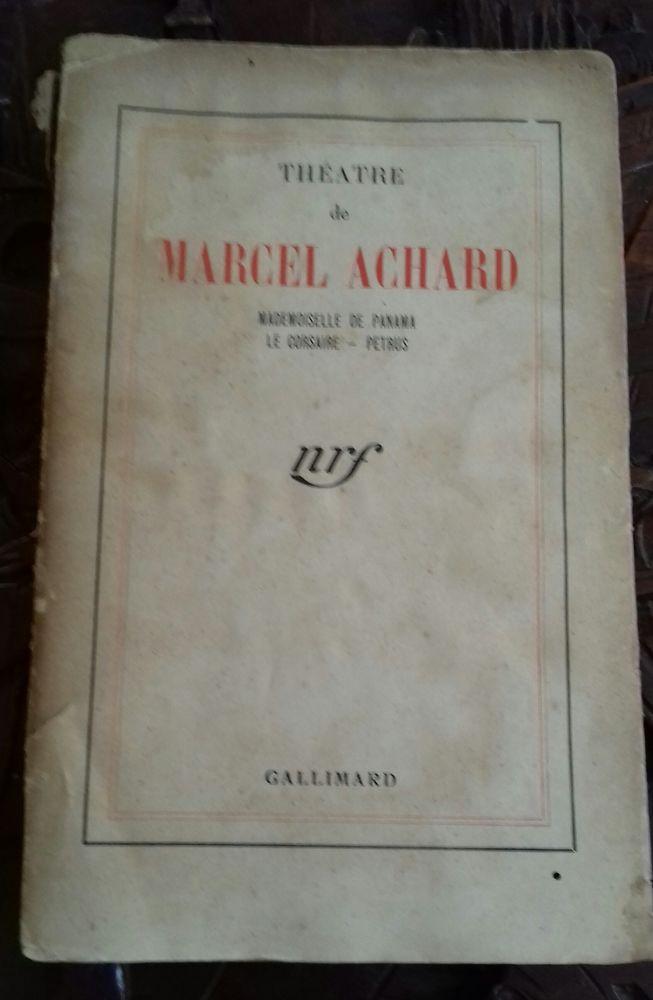 Marcel Achard dédicacé 0 La Seyne-sur-Mer (83)