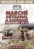 Marché Artisanal et Gourmand de l'AHFMN 0 Nogent-sur-Oise (60)