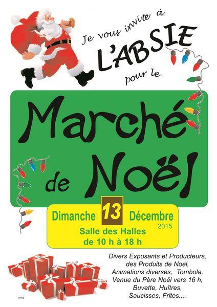 MARCHÉ DE NOËL A L'ABSIE 0 L'Absie (79)