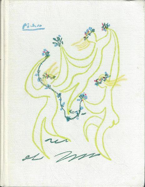 Marianne Clouzot : dessin original sur livre illustré 210 Lourdes (65)