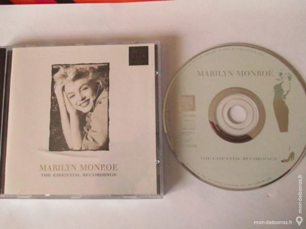 CD Marilyn Monroe the essential recordings 2 Gorges (44)