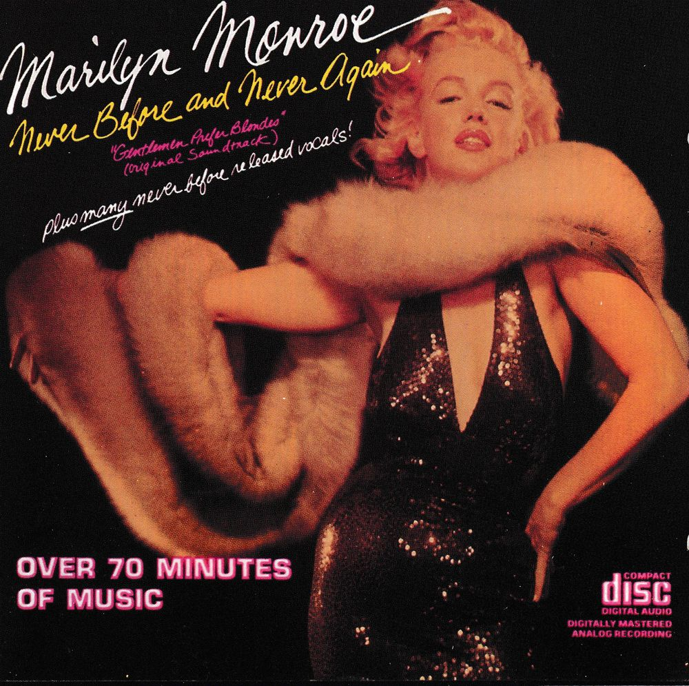 CD   Marilyn Monroe   Never Before And Never Again 15 Bagnolet (93)