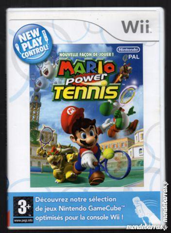Wii Mario power tennis Consoles et jeux vidéos