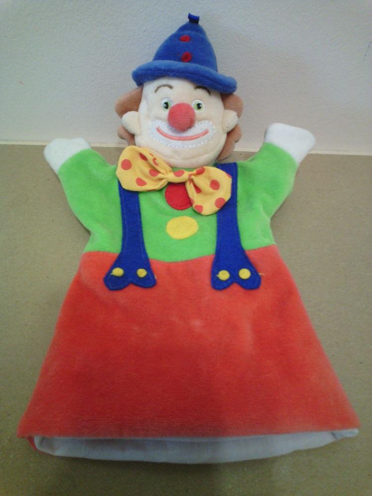 Marionnette de clown hauteur 27,5 cm - TBE 8 Reims (51)