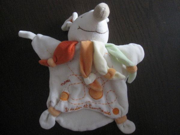 Marionnette souris doudou et compagnie  5 Saint-Jean-Pla-de-Corts (66)