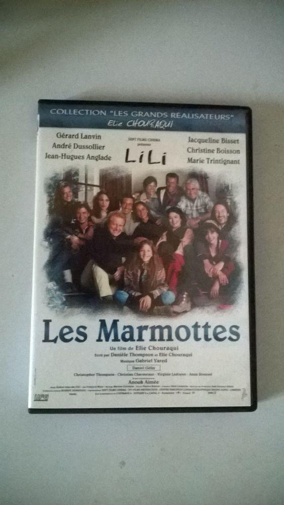 DVD Les Marmottes Elie Chouraqui  DVD Zone 2  8 Talange (57)