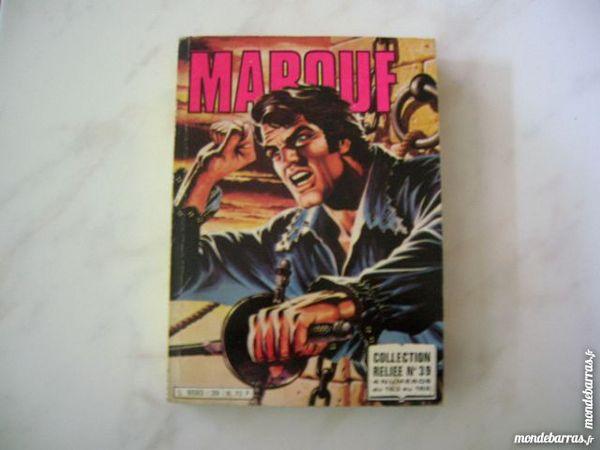 BD MAROUF N°39 Collection reliée N°163,164,165,166 12 Nantes (44)