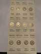 Lot de marque pages plaqués or 24 carats 12 signes zodiaque Livres et BD