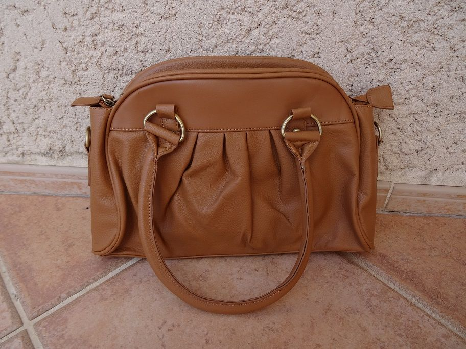 Sac marron camel 7 Marseille 10 (13)