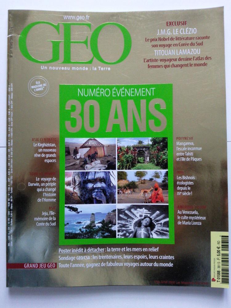 GEO N°361 Mars 2009 Spécial 30 ans 0 Arros-de-Nay (64)