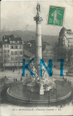 13 , Marseille fontaine cantini 1916 8 Tours (37)