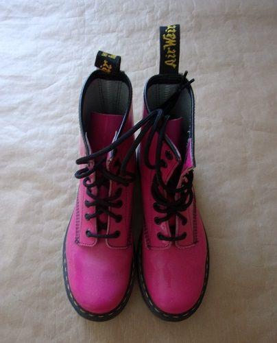 Doc Martens vernis roses pointure 37 Chaussures enfants