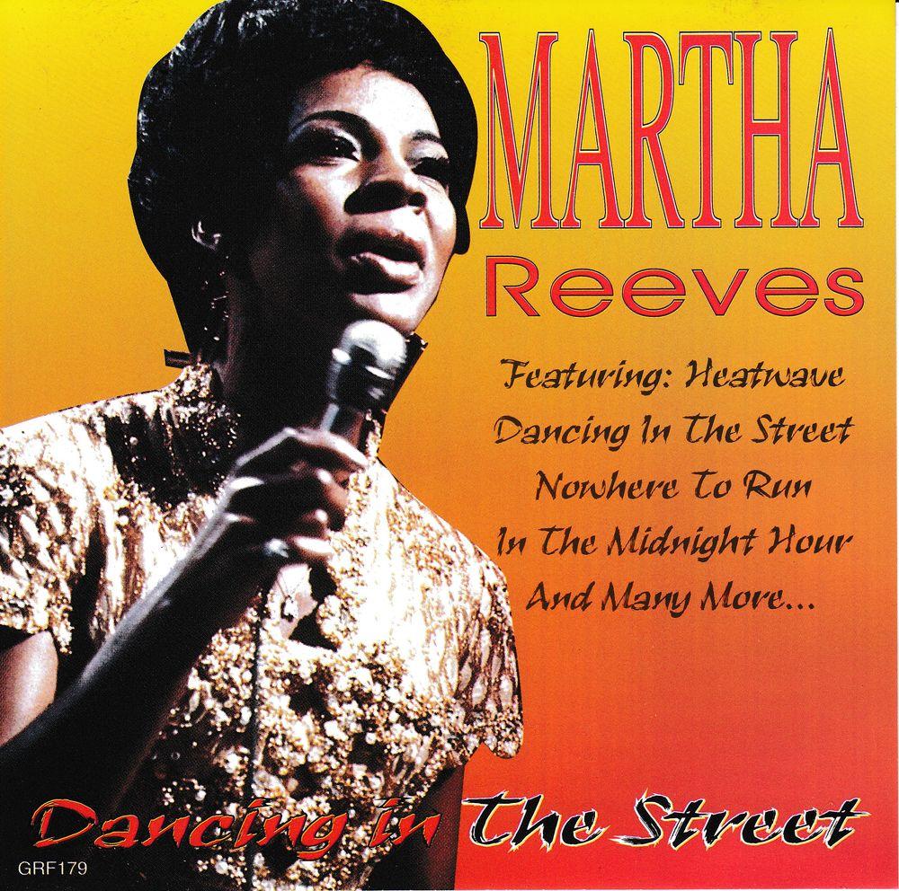 CD          Martha Reeves          Dancing In The Street 5 Bagnolet (93)