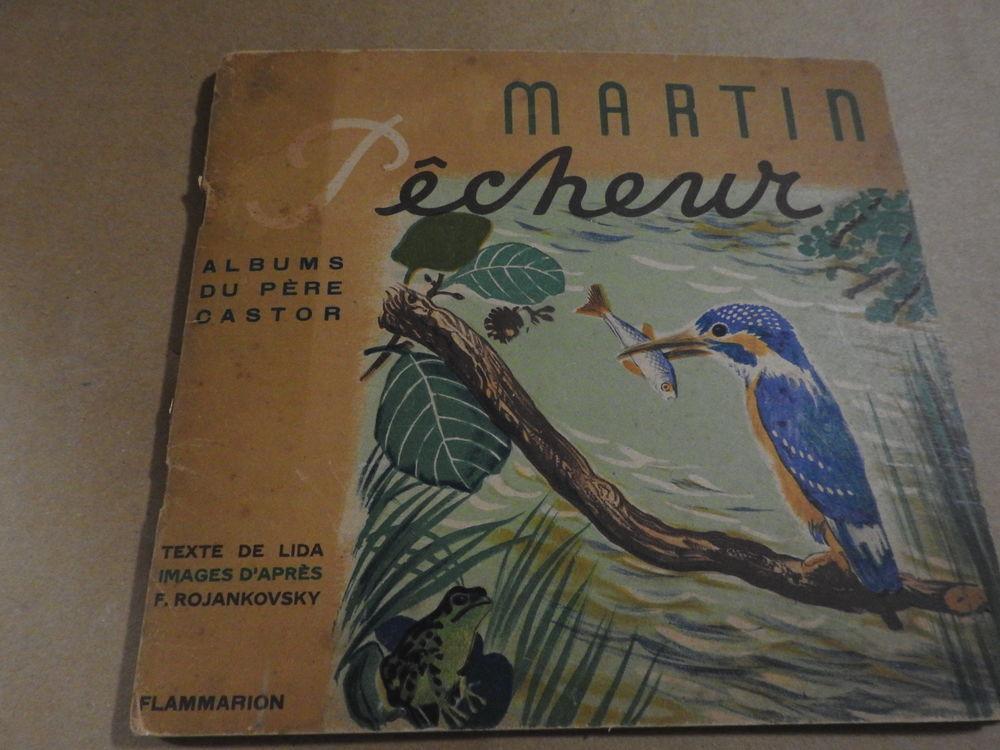 martin pêcheur (éditions père Castor) vintage 10 Le Mans (72)