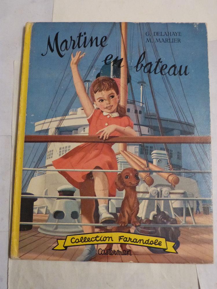 MARTINE EN BATEAU  collection  FARANDOLE 8 Brest (29)