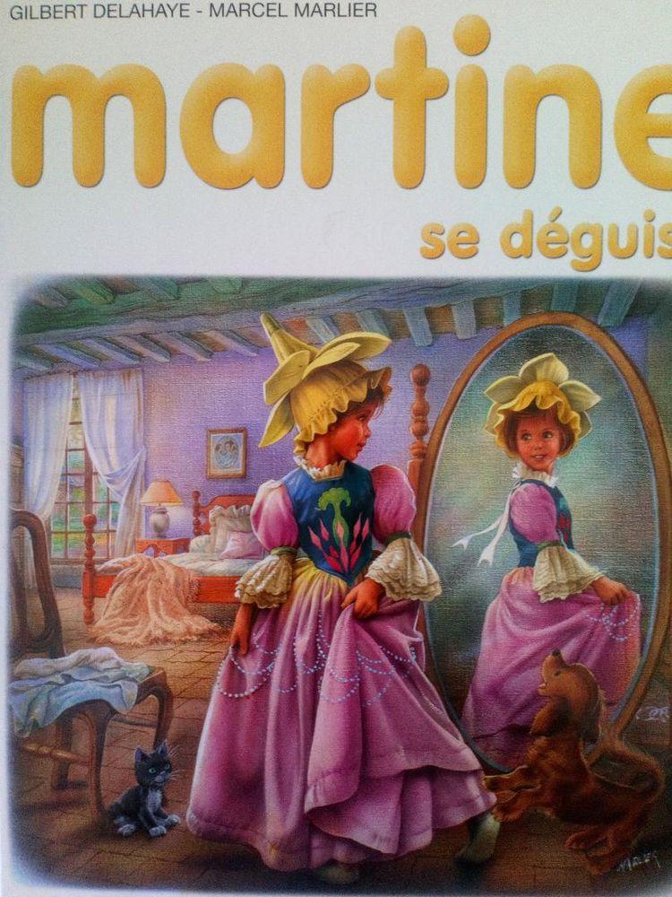 MARTINE SE DEGUISE Livres et BD