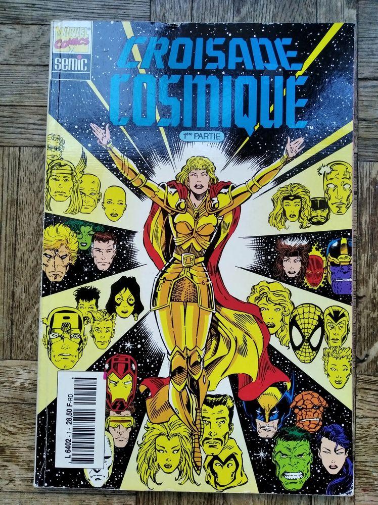 Marvel Comics - Semic - Croisade Cosmique n°1 10 Rezé (44)