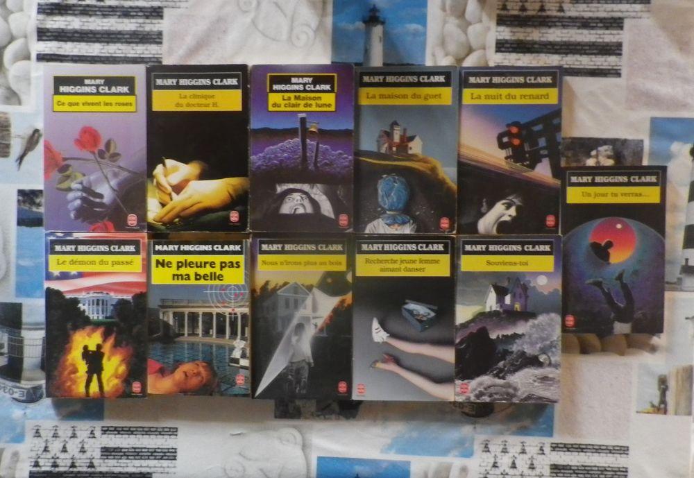 11 Mary HIGGINS CLARK Livre de Poche (détail dans l'annonce) 10 Bubry (56)