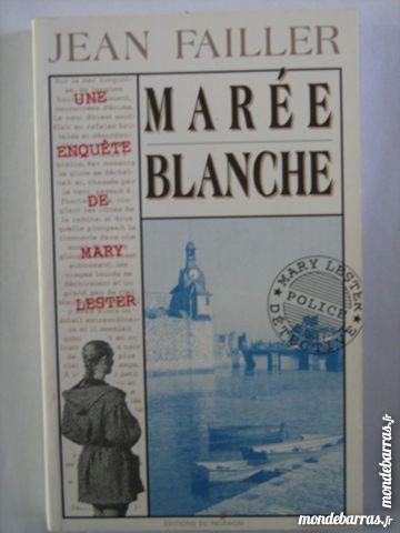 MARY LESTER N° 4 MAREE BLANCHE roman policier 2 Brest (29)