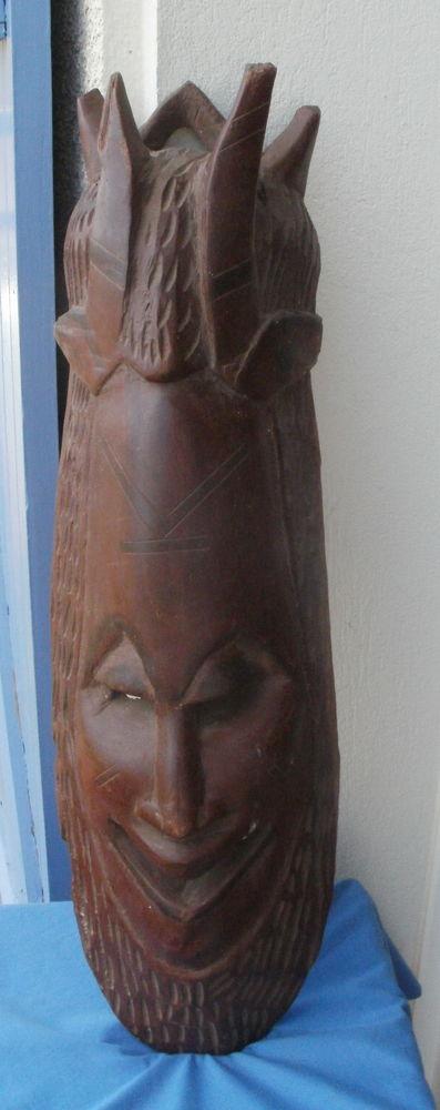 Masque africain en bois sculpté Hauteur 63 cm 30 Montauban (82)