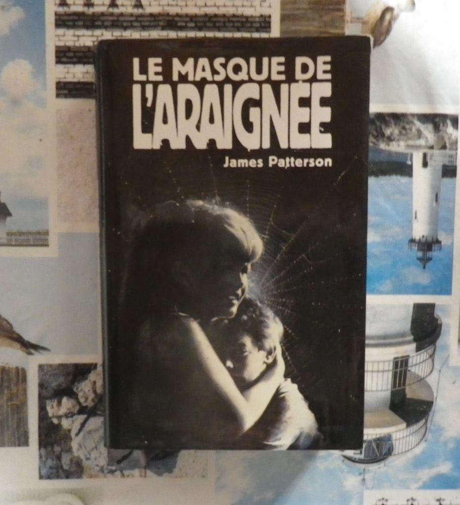 LE MASQUE DE L'ARAIGNEE de James PATTERSON Ed France Loisirs 3 Bubry (56)