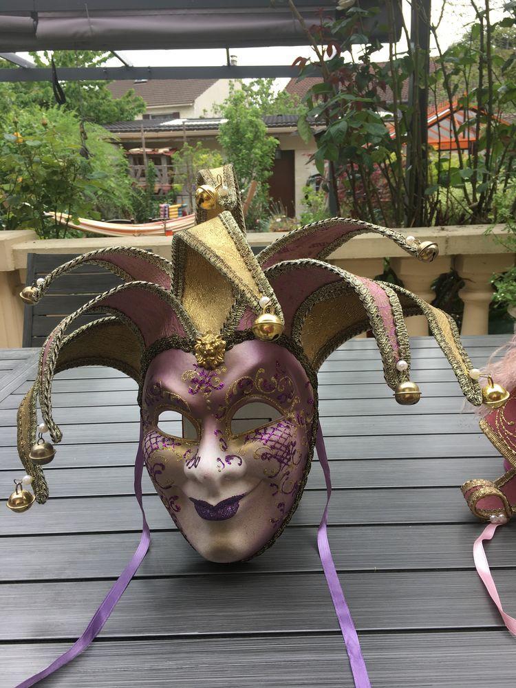 Masque authentique du carnaval de Venise 25 Les Pavillons-sous-Bois (93)