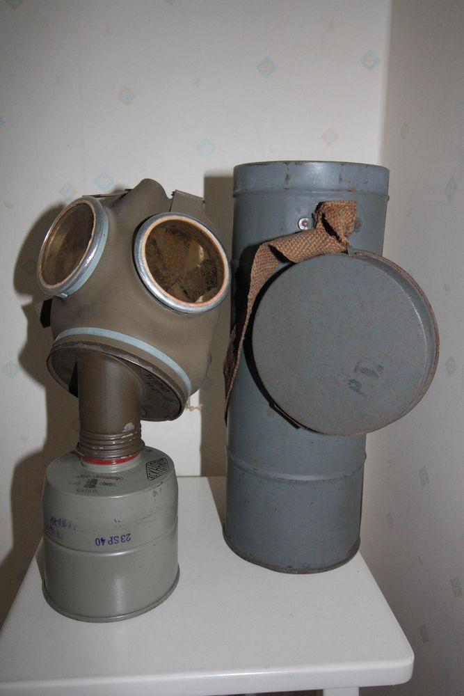 Masque à gaz 2de guerre mondiale 0 Cergy (95)