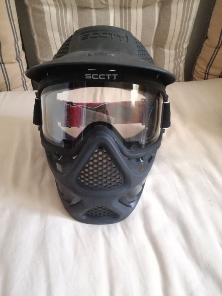masque paintball anti buee