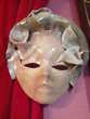 Masque vénitien signé Amano ancien N° 358