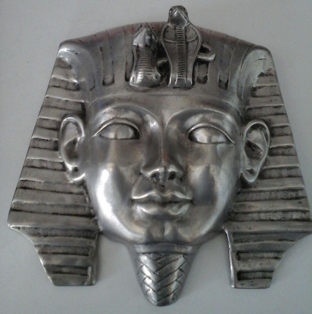 Masques Egyptiens en Etain 120 Istres (13)