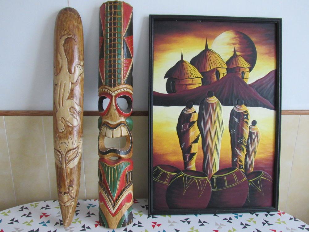 masques et tableau africains 0 Bayonne (64)