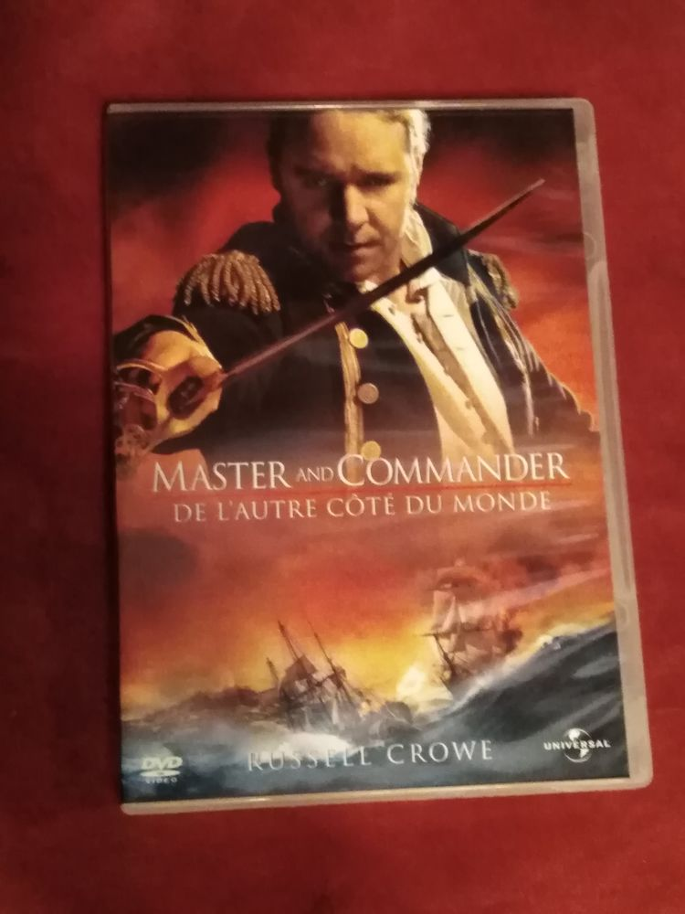 DVD master and commander de l'autre côté du monde DVD et blu-ray