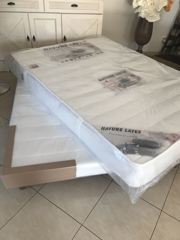 Matelas + Sommier 140x190 neuf sous emballage 250 Pessac (33)