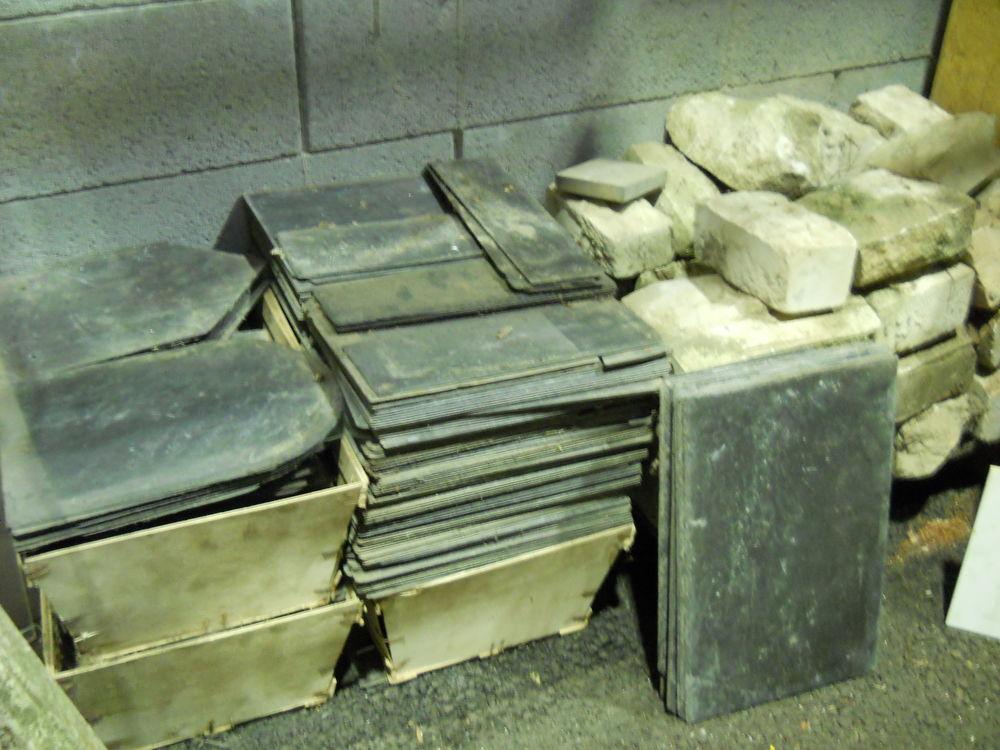 Matériaux ardoise, pierre ancienne Occasion Bricolage