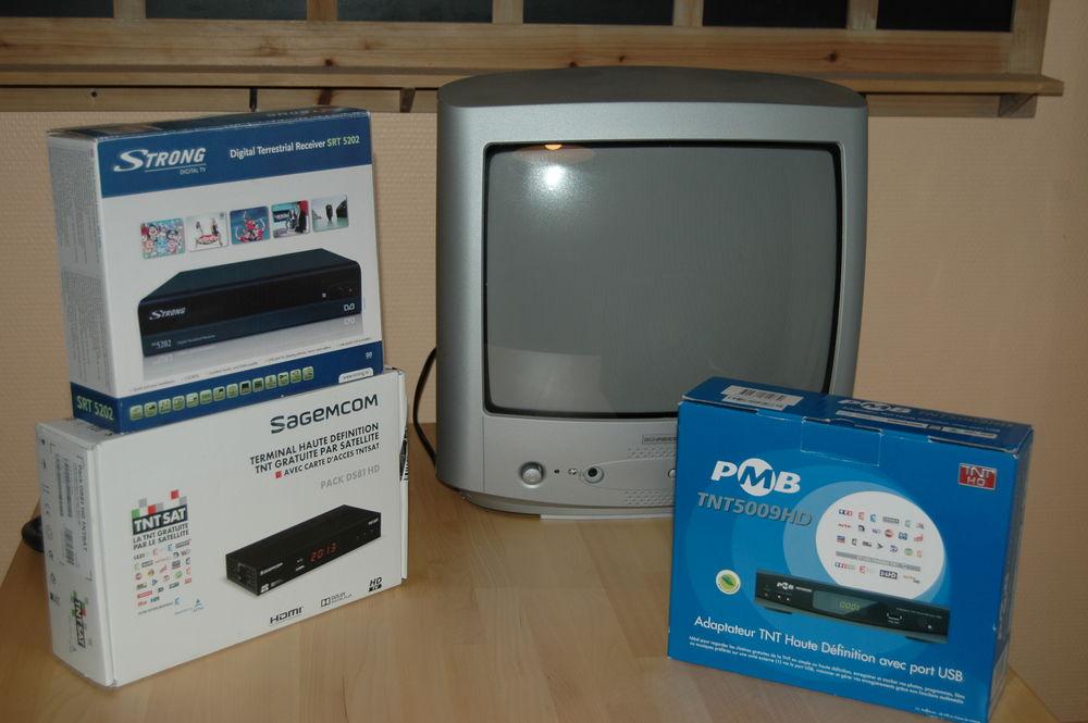 Matériel TV idéal pour mobil-home, caravane Photos/Video/TV