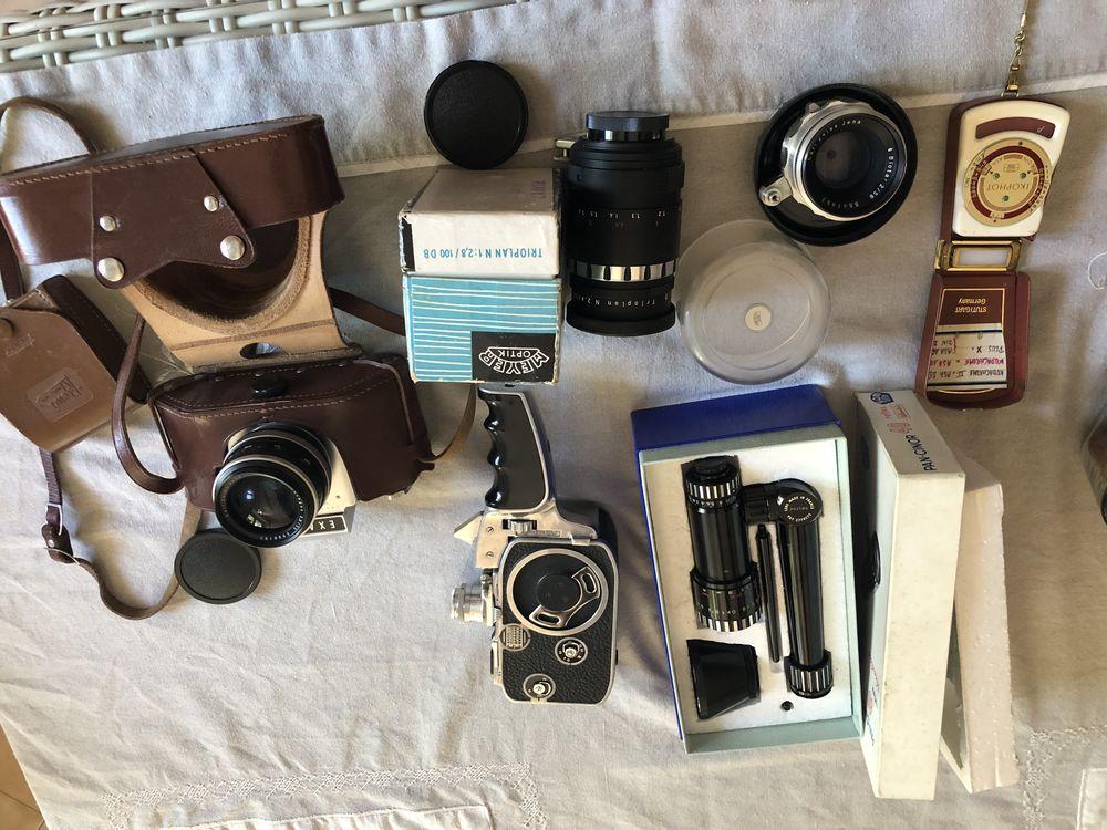 materiel photo argentique avec 3 objectifs, 1 camera super 8 et instruments de mesure 600 Le Thor (84)